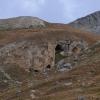 Grotte am Serre Monte auf 2609m