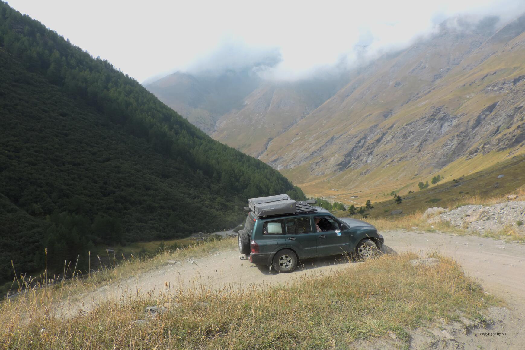 Aufstieg im Val d'Rochemolles