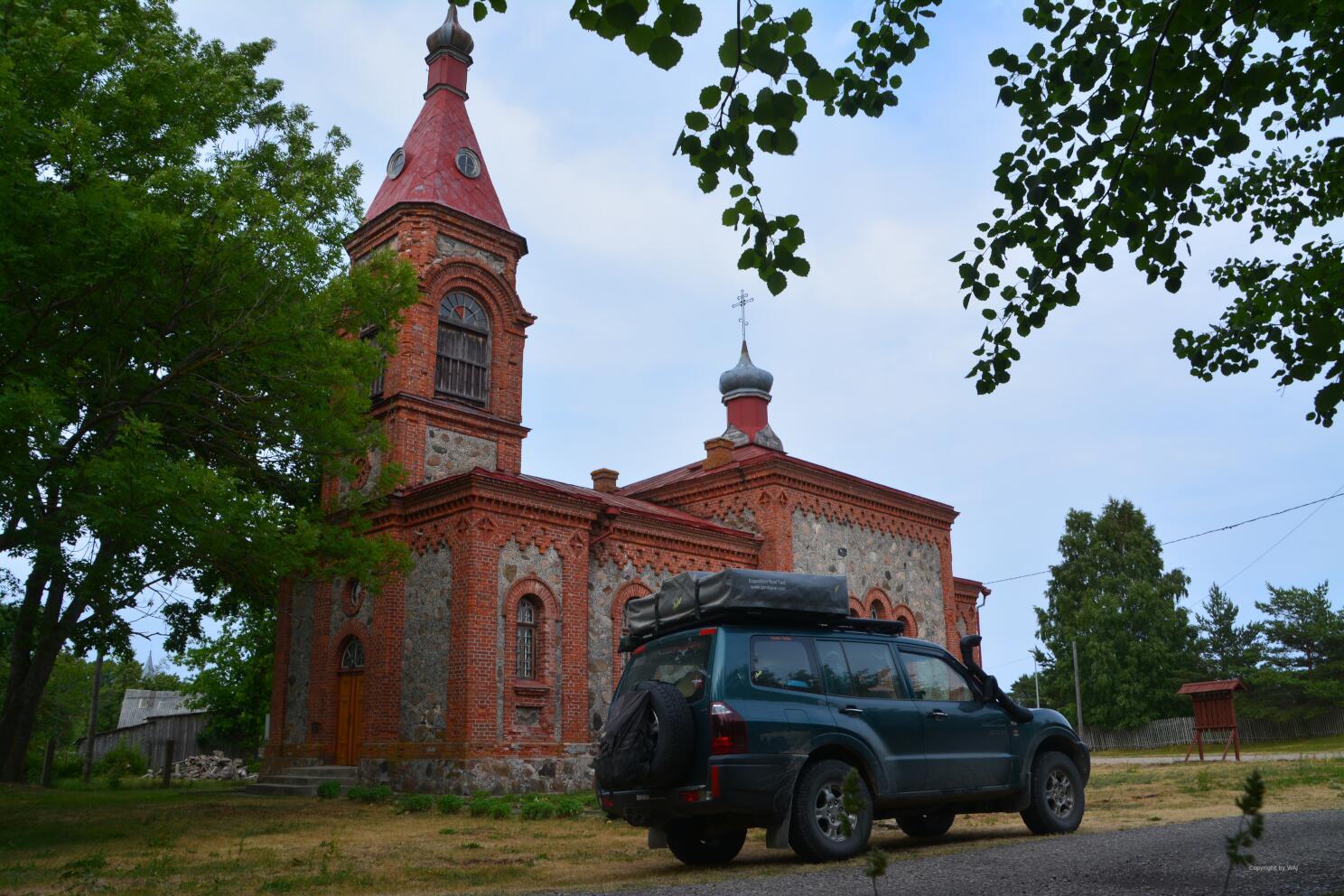 Kirche zu Kolka