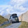 Lange in die Landschaft gucken, kann der Fahrer aber nicht...