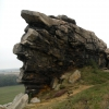Sagenumwobene Teufelsmauer im Harz
