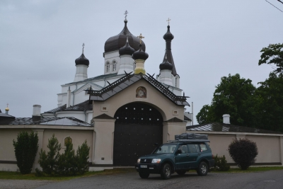 Klosteranlage in Vasknarva