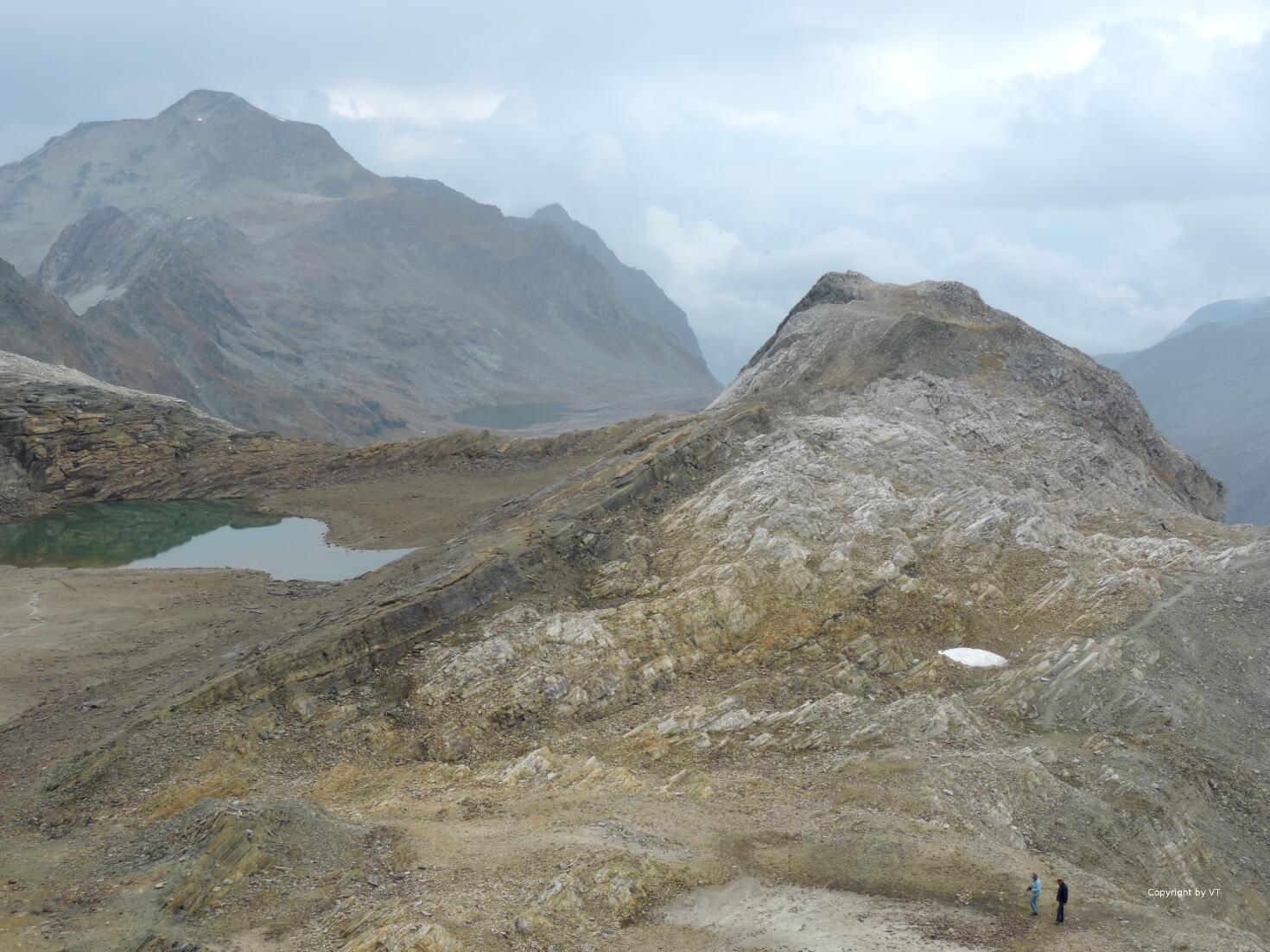 Lac Sommeiller & im Hintergrund Lac Noir