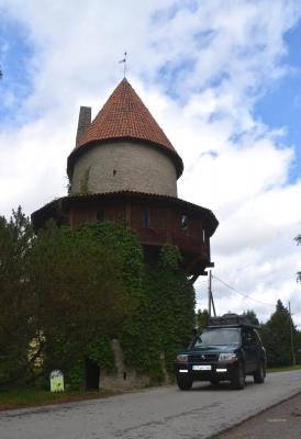 Der Wohnturm ist die Festung.