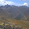 Regenbogen überm Hochtal