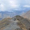 Riesiger Gipfelparkplatz Monte Jafferau