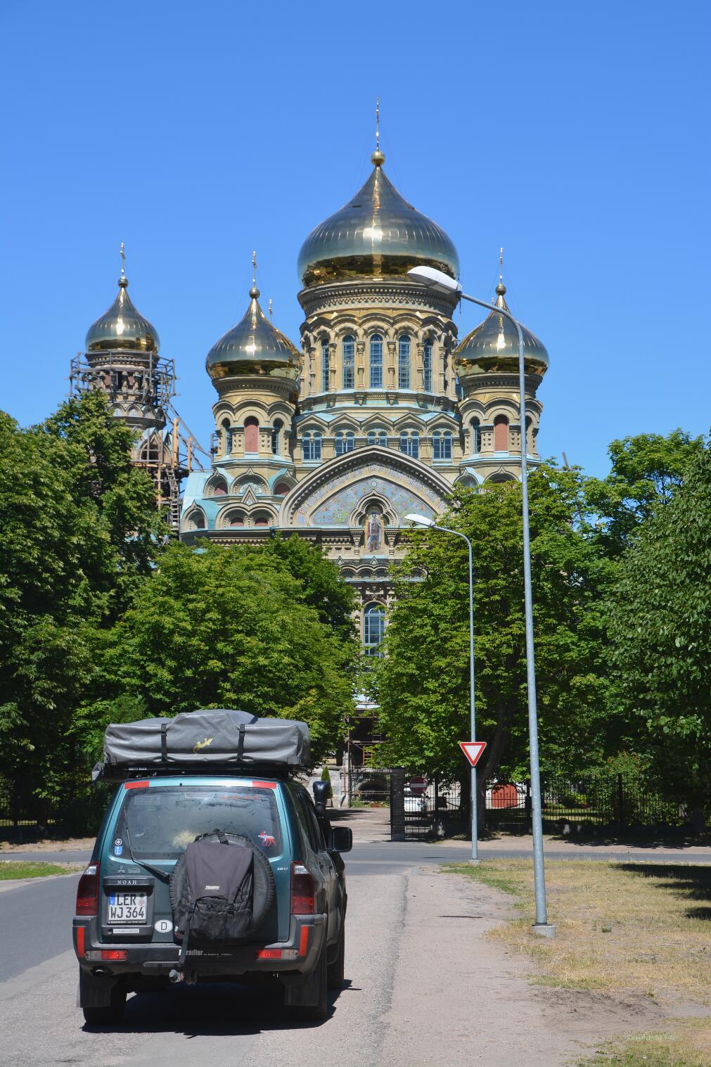 Orthodoxe Dreifaltigkeitskathedrale in Liepaja