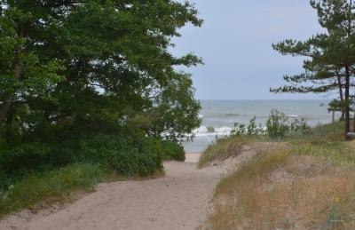 einsame Küsten