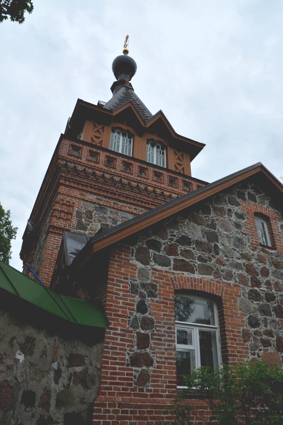 das Torhaus des Klosters