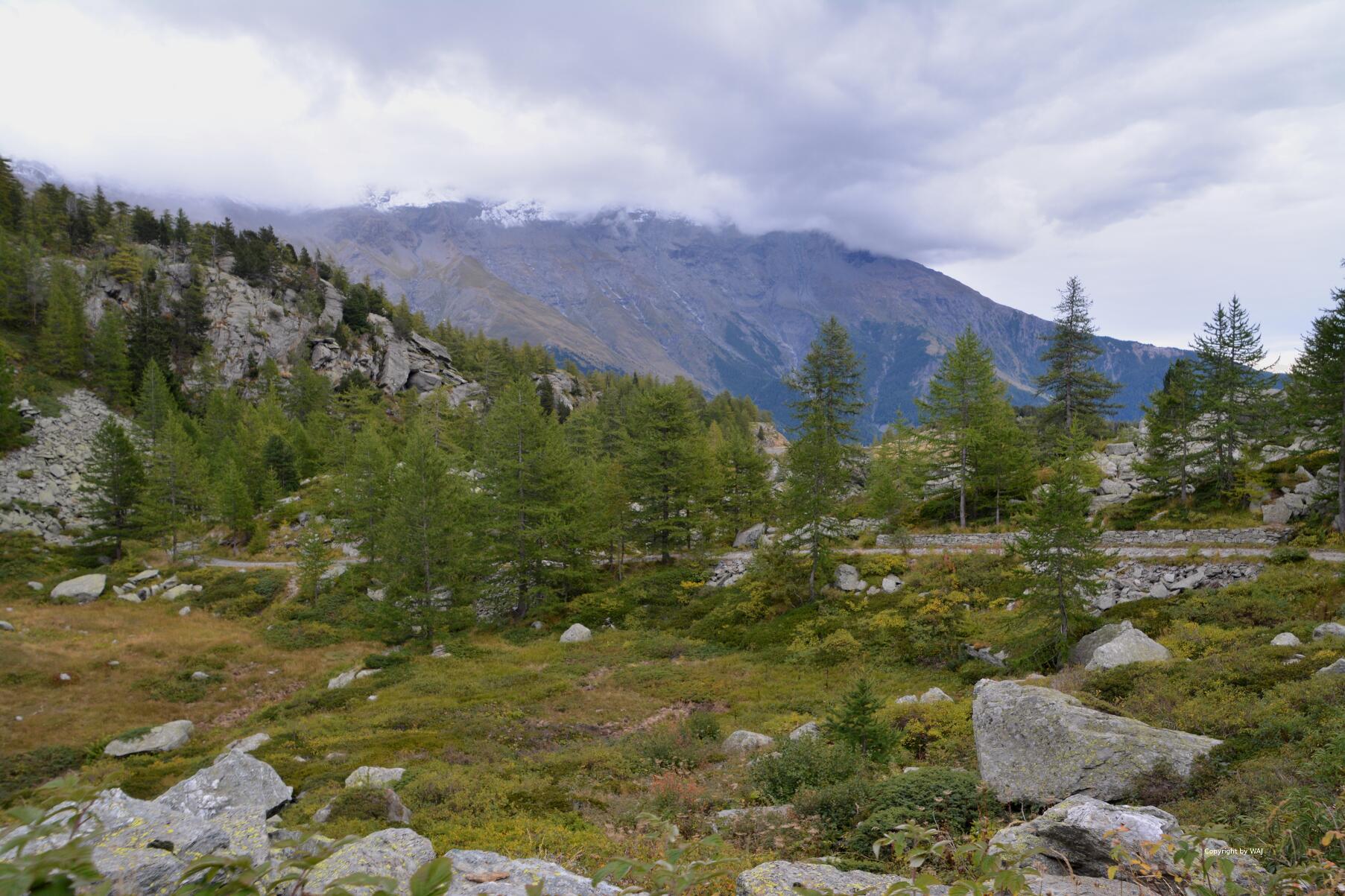 Landschaft, die die Fantasie anregt!