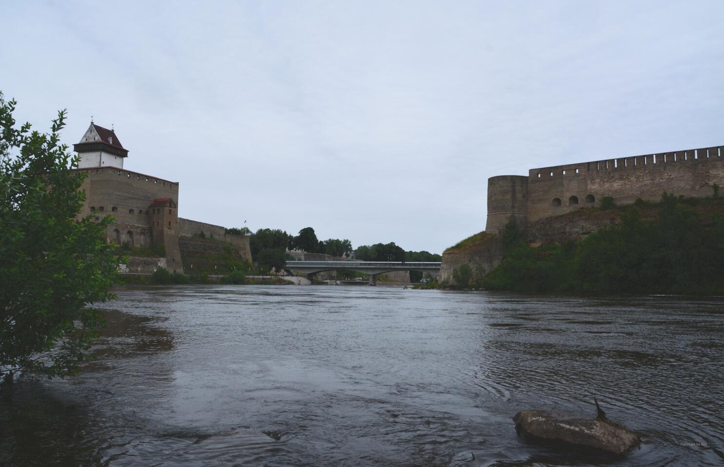 Grenzfluss Narva