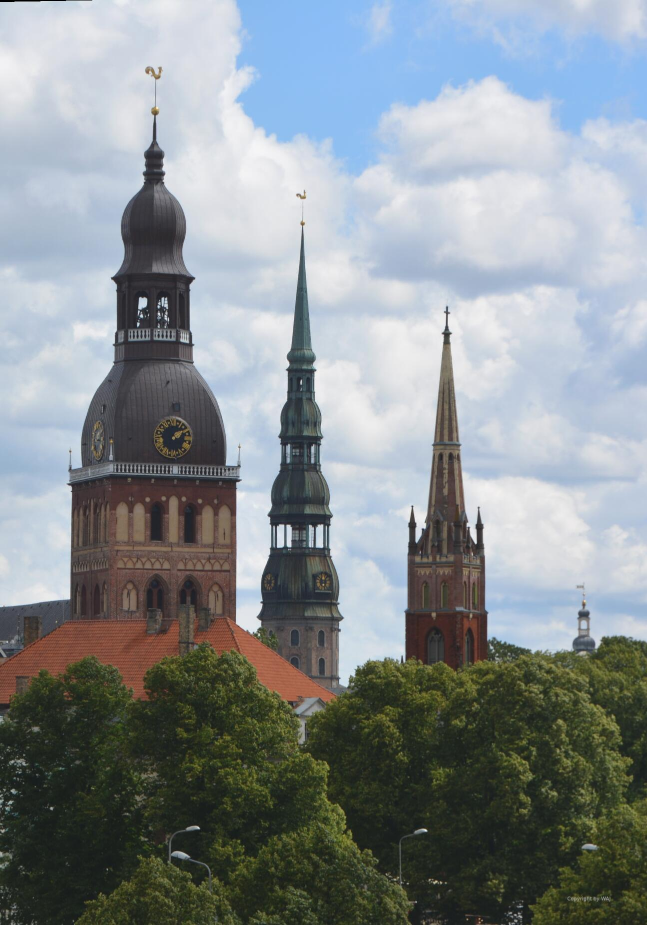 Rigaer Altstadttürme