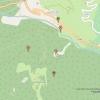 Weg zu den Forts am Roche la Croix