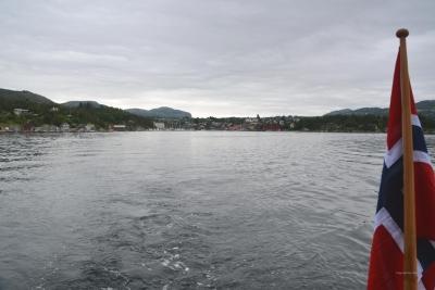 Auslaufen von Stavanger...