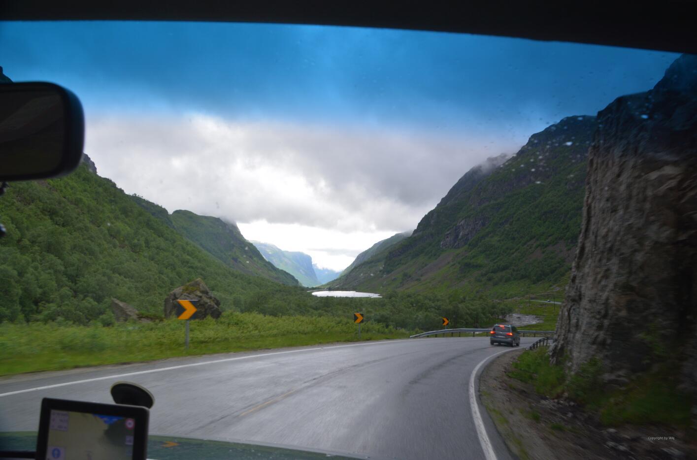 Zurück zwischen den Bergen