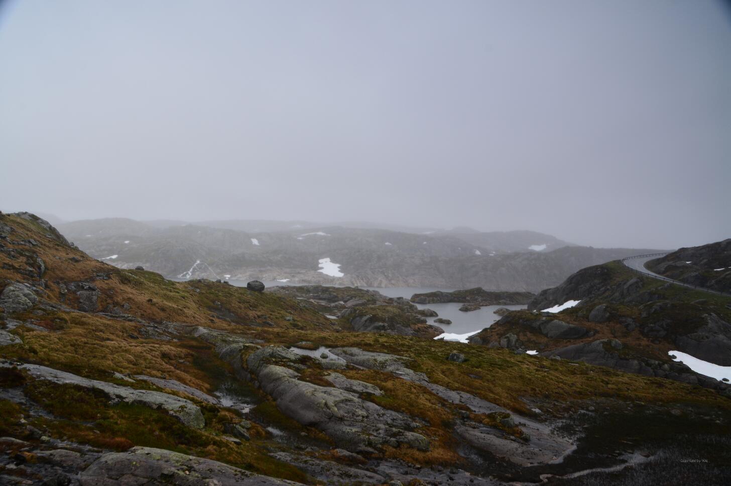 Einsame Straße durch wildromantische Highlands!