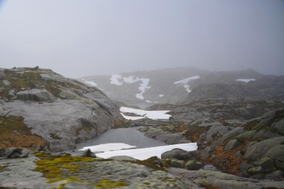 Je höher, desto rauer zeigt sich das Fjell.