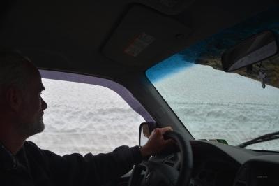 Ernsthaft, das sind Schneewächten...