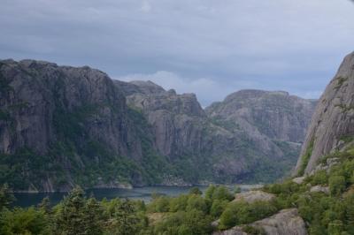 Rückblick zum Joessingfjorden