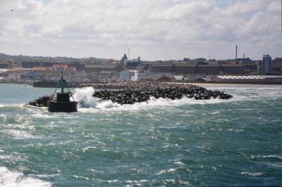Hafeneinfahrt Hirtshals