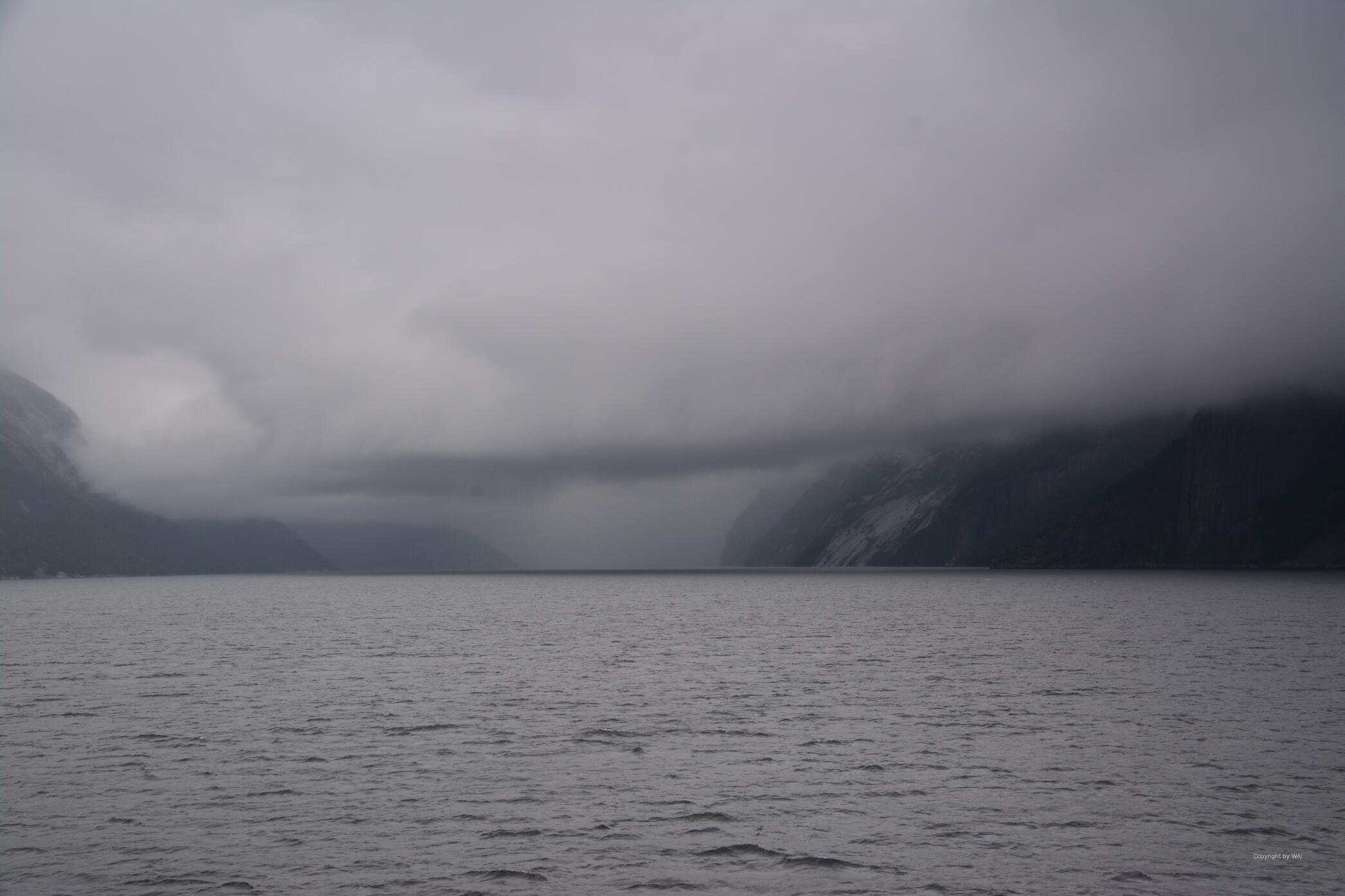 ... bevor der Regen kommt...
