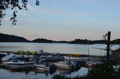 Abend am Sandnesfjorden