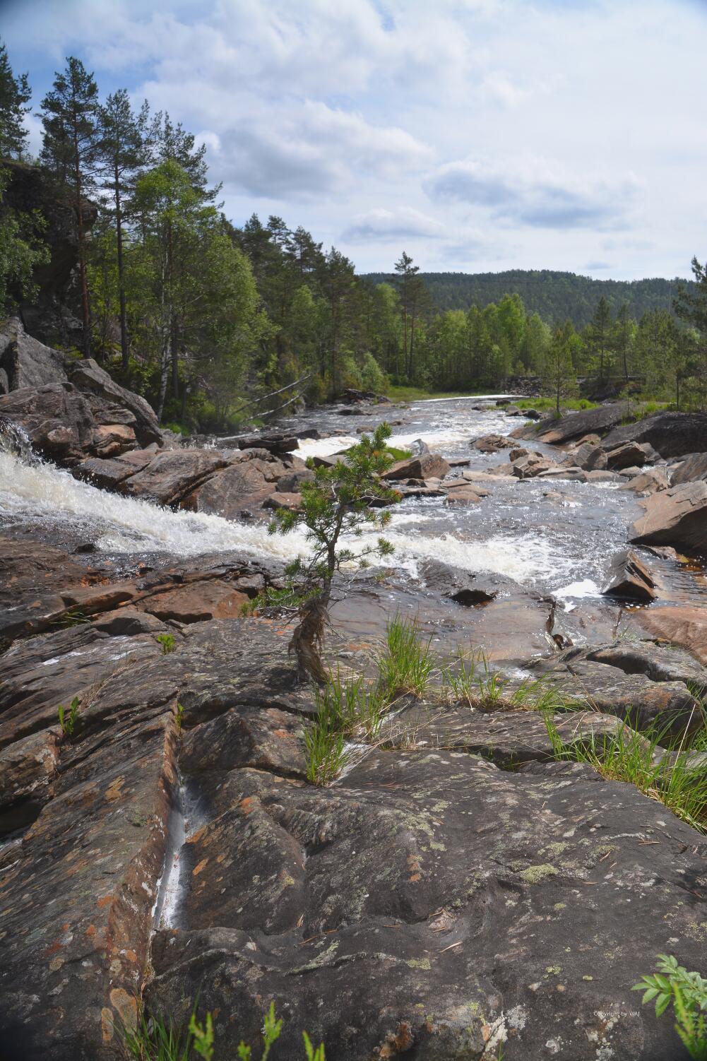 Beeindruckende Wasserfälle...