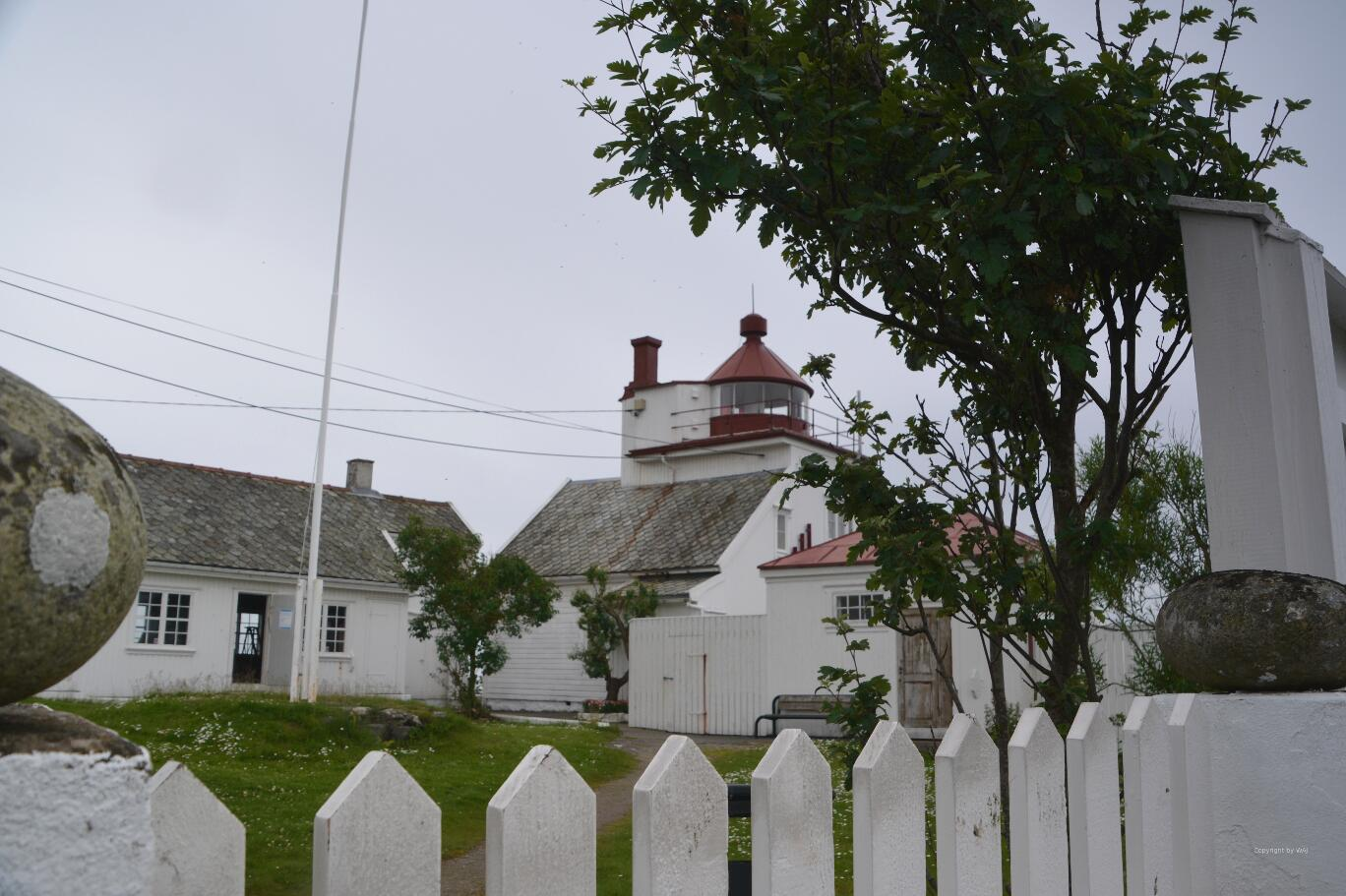 Innenhof der historischen Gebäude