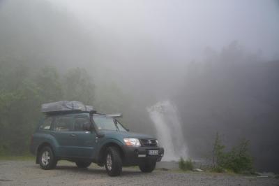 Idyllischer Wasserfall - eigentlich...
