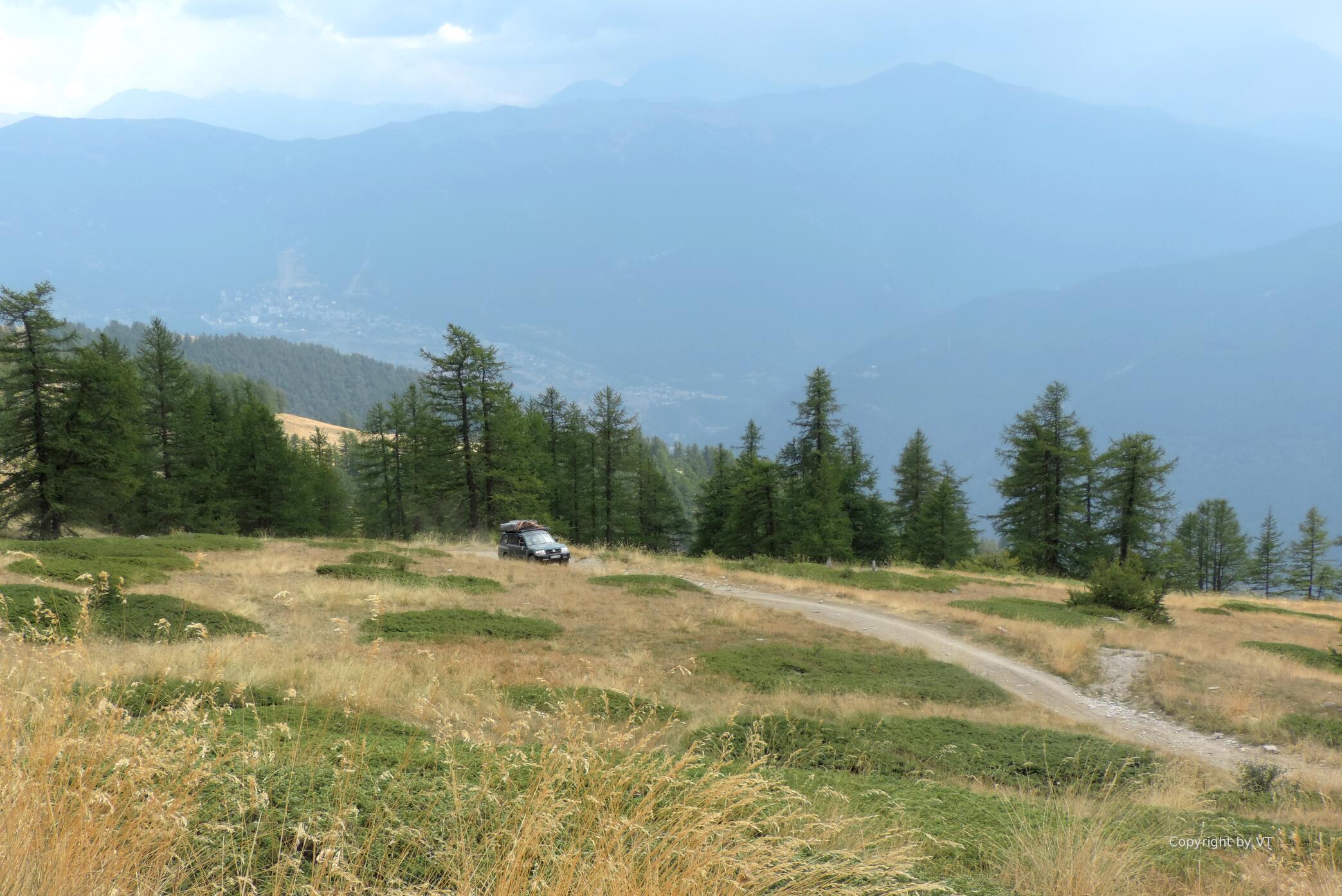 Almen am Monte Jafferau
