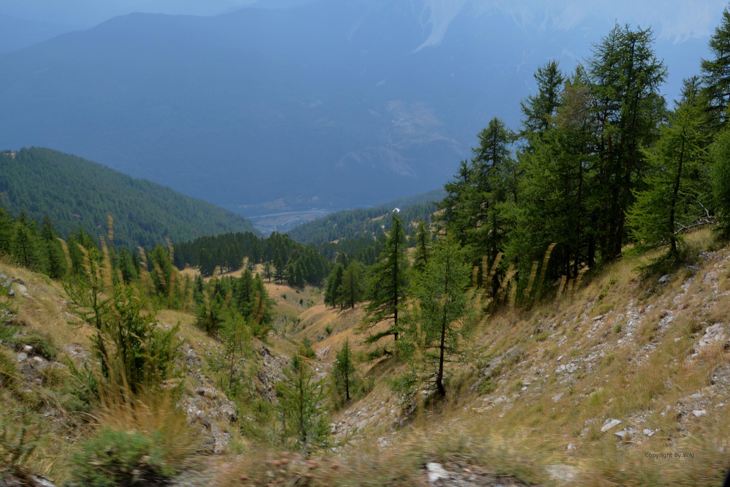 Blick zurück ins Alta Val Susa