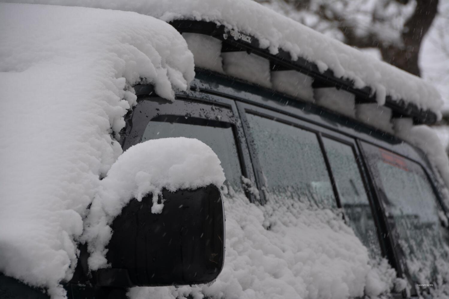 ... richtig Schnee!