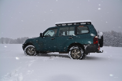 Schneeflocken begleiten uns...