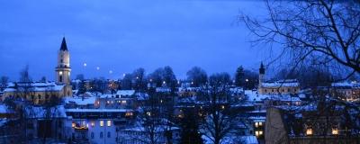 Weihnachtliches Panorama