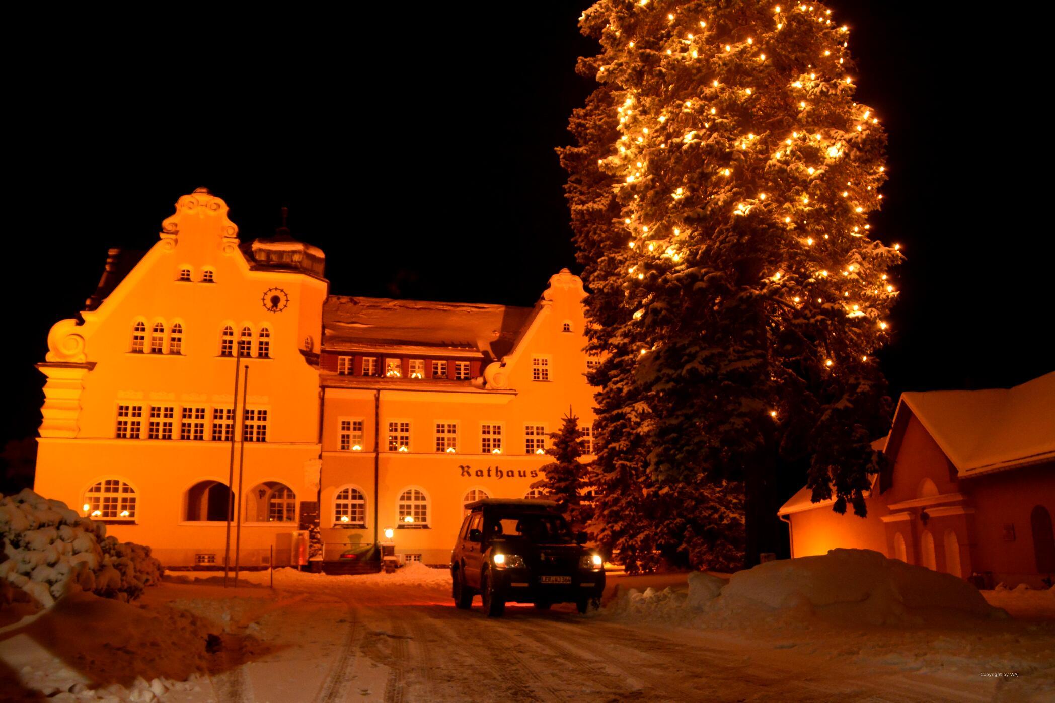 Rathaus zu Schöneck im Vogtland