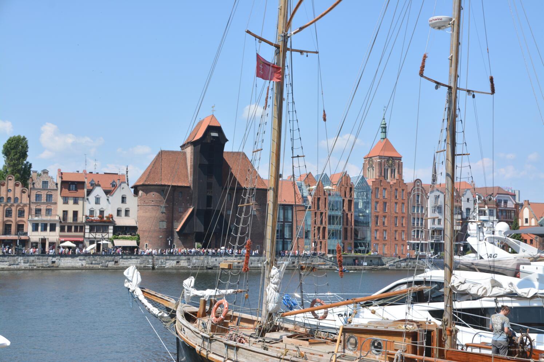 Historisches Krantor in Gdansk