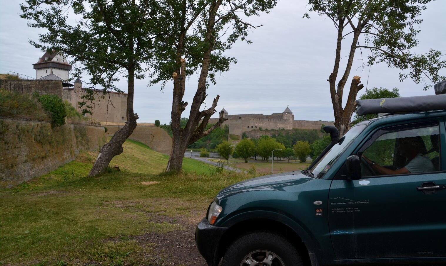 Von der Mecklenburger Bucht zur Narva laht Sommer 2018